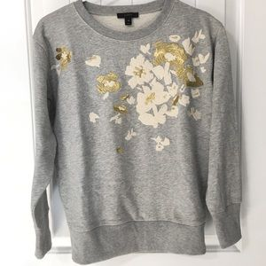 NWOT J. Crew Embroidered Sweater